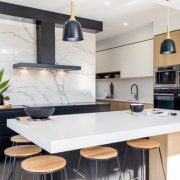 Photo of Dajaman Contemporary Kitchen Benchtop by Christine Hill